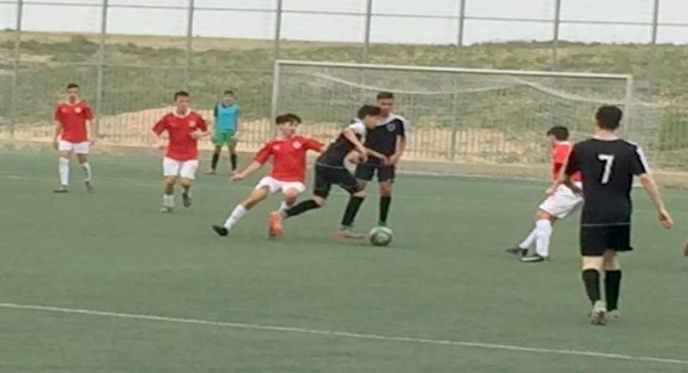 נערים ב' הפועל באר שבע נגד עירוני מעלה אדומים