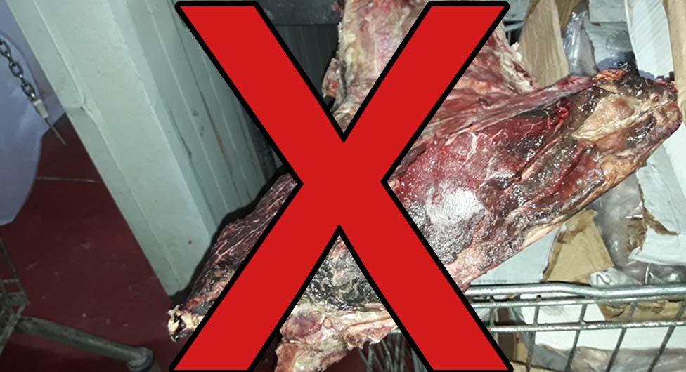 בשר לא ראוי למאכל אדם בבאר שבע