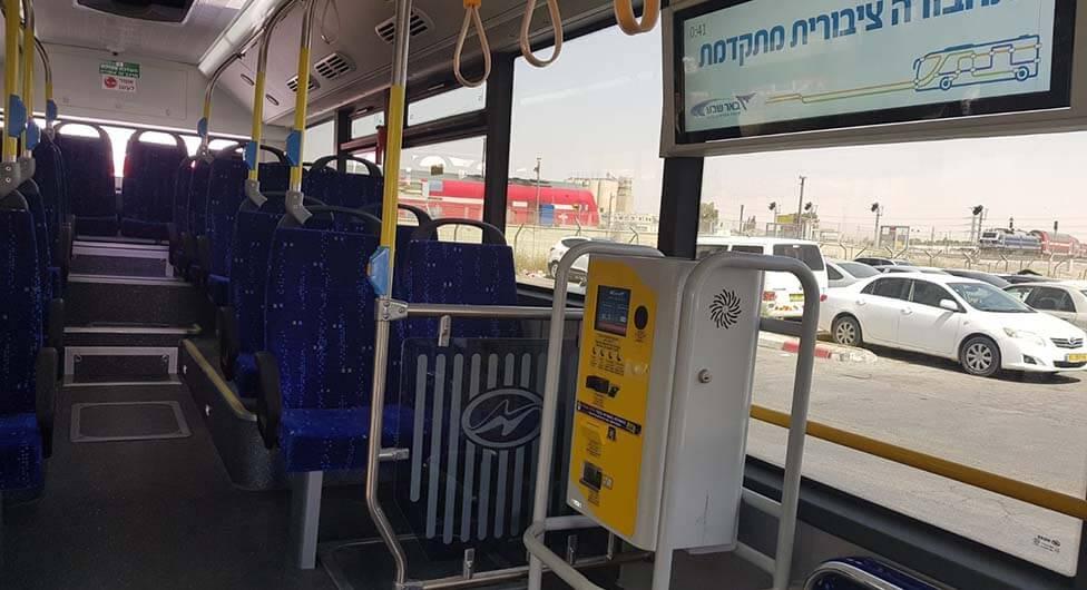 האם התשלום במכונות גורם לאלימות באוטובוסים בבאר שבע?
