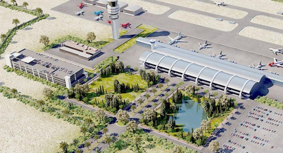שמעון בוקר למען שדה התעופה הבינלאומי בנבטים