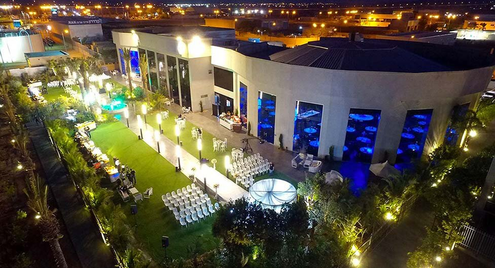 Garden Hall – גן ואולם אירועים חדש בבאר שבע