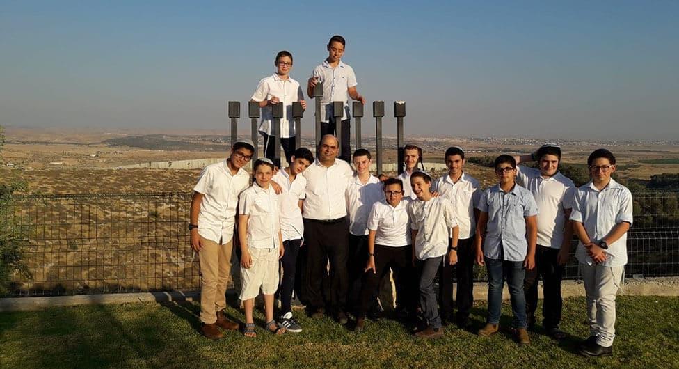 שנה שנייה לכיתת המחוננים בבאר שבע