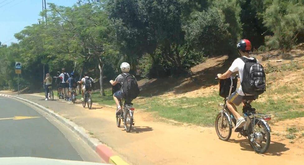 3 פצועים קשה בתאונות אופניים בבאר שבע בעשור