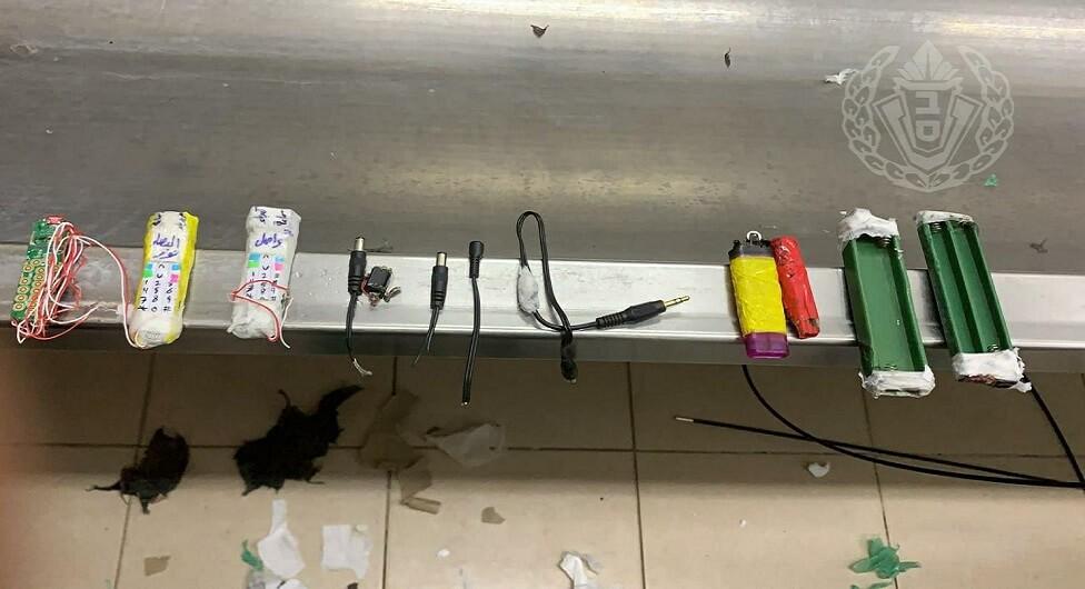 טלפון סלולרי בניחוח כורכום וטלפון בעבודת יד נתפסו בבתי סוהר