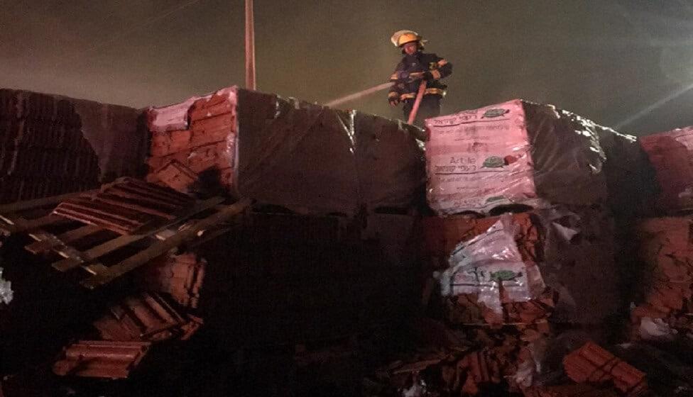 שוב שריפה במפעל קוניאל בירוחם