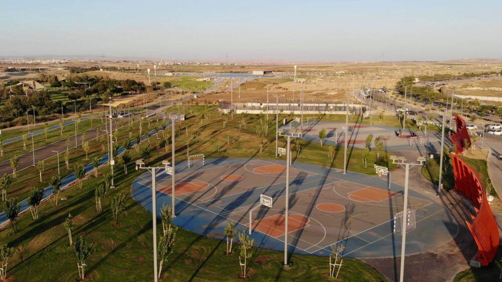 הסתיימו עבודות הקמת מתחם הספורטק בפארק נחל באר שבע