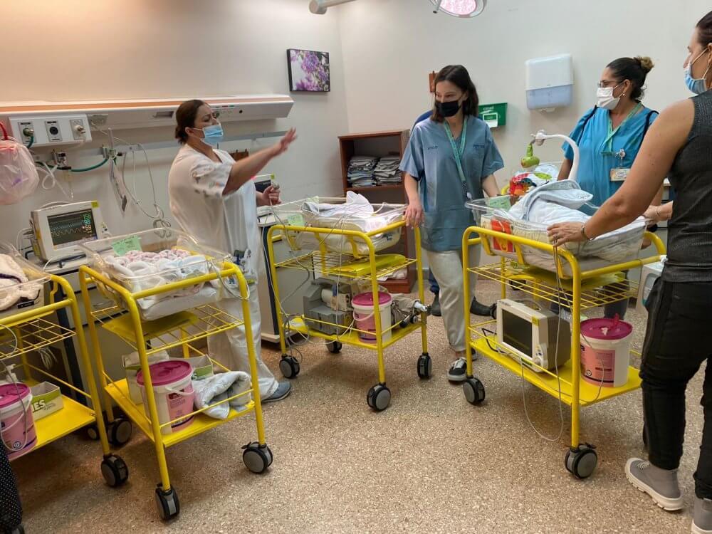 """בבית החולים סורוקה נפתח חמ""""ל חירום"""