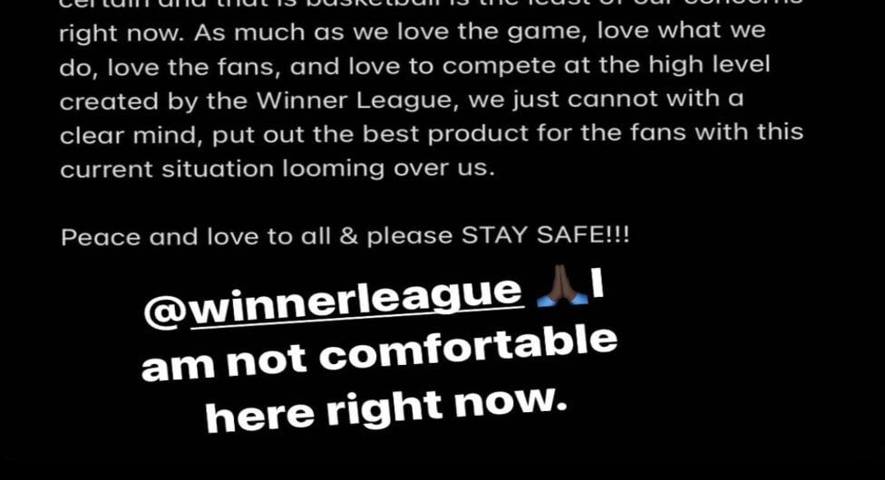 הכדורסלנים הזרים דורשים להפסיק את הליגה