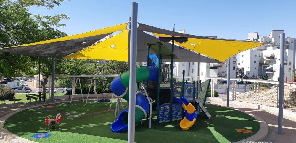 הסתיימו עבודות שדרוג גן ציבורי אבוחצירא בשכונה ו'